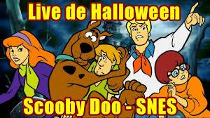 live de halloween scooby doo mystery snes youtube