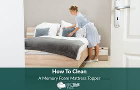 how to clean a memory foam mattress topper it u0027s pretty easy
