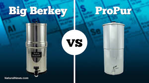 Berkey Water Filter Stand by Big Berkey Beats Propur Gravity Water Filter For Removal Of Heavy