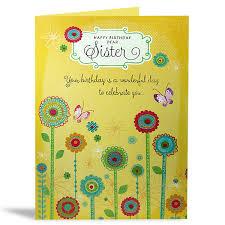 happy birthday sister card u2013 delhi gift gallery online gift