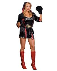 Size Cat Halloween Costumes Tko Total Knockout Women U0027s Boxer Costume Costumes