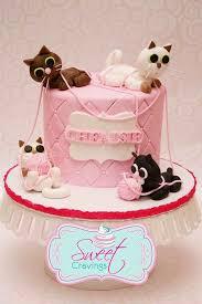 Cat With Birthday Cake Best 25 Cat Birthday Cakes