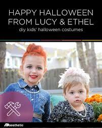 diy kids u0027 halloween costumes lucy u0026 ethel u2022 ad aesthetic