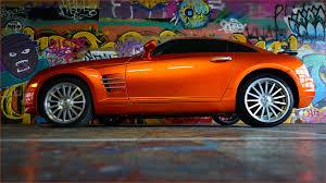 chrysler crossfire custom orange paint graffiti garage t u2026 flickr