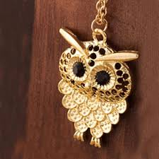 vintage owl pendant necklace images Vintage women owl pendant necklace the wisest owl jpg