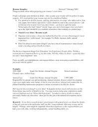 Nail Technician Cv Sample Resume Objective Examples For Vet Techs Augustais