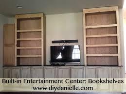 built in center media centers basement remodel built in media