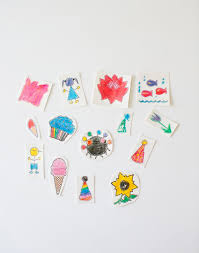 hello wonderful make temporary tattoos out of kids u0027 art