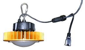 temporary job site lighting lind equipment launches led temporary high bay light for