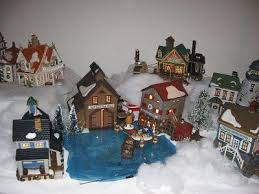 mini lights for christmas village 45 best christmas ideas for decorating images on pinterest