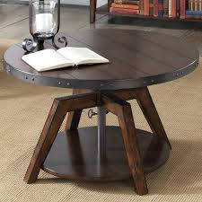 adjustable height side table coffee table adjustable height cocktail table adjustable coffee