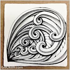 zentangle pattern trio trio family doodles zentangles and tangled