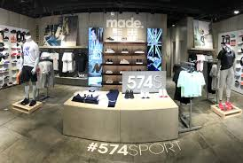 Shoo Rainforest Shop new balance s store at the paragon uses technology to bring
