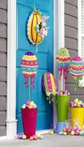 easter home decorating ideas exquisite porch outdoor easter home design inspiration display
