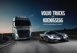 koenigsegg one key volvo trucks vs koenigsegg spoon