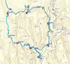 Map Of Zion National Park Bluugnome Com Canyoneering Heaps Canyon Zion National Park Utah