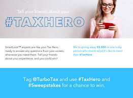 sweepstakes your taxhero is ready when you need it the
