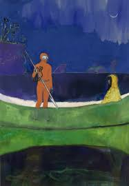 artist peter doig discusses his show at michael werner gallery
