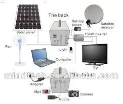solar dc lighting system 2017 sale 60w solar fan lighting system and tv 12v dc solar home