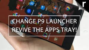 huawei designs app huawei p9 how to change the launcher and add an app drawer