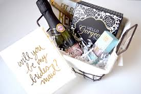 asking bridesmaid gifts bridesmaids gifts another question to be popped columbus