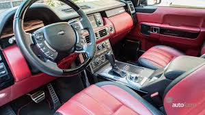 land rover autobiography red interior 2011 land rover range rover autobiography black autoform