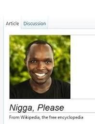 Nigga Please Memes - nigga please wikipedia donation banner captions know your meme