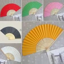 held paper fans vogue folding held paper fans favors bamboo pocket fan