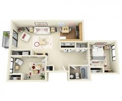 appartement 2 chambres idee plan3d appartement 2chambres 17
