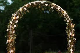 wedding arch lights best lighting ideas for an outdoor wedding