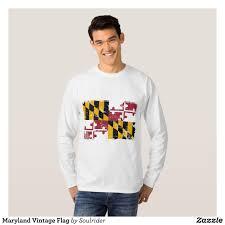 German Flag Shirt Maryland Vintage Flag T Shirt Heavyweight Pre Shrunk Shirts By
