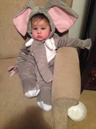 Baby Elephant Costumes Halloween 6 Months Jenni Global