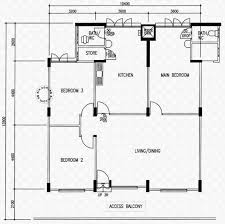 Garden Floor Plan by Floor Plans For Pandan Gardens Hdb Details Srx Property