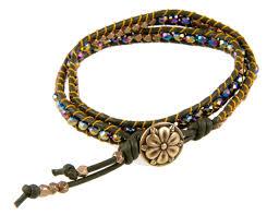 bracelet beaded diy images Diy beads and leather wrap bracelet bead shop girl jpg