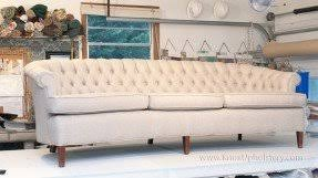 Diamond Tufted Sofa Button Tufted Couch Foter