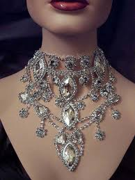 choker necklace rhinestone images Rhinestone choker necklaces necklace wallpaper jpg