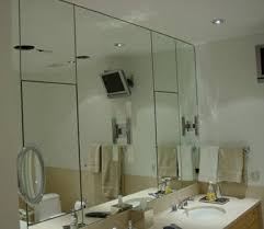 Mirror Wall Bathroom Custom Mirror Installation And Repair In Island And Metro