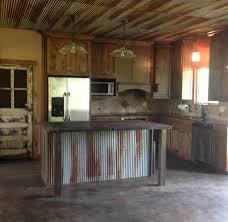 Barnwood Kitchen Cabinets Kitchen Rustic Kitchen Cabinets Little Barnwood And Corrugated