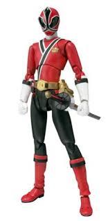 power rangers samurai shinken red ranger figuarts action