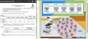 cell cycle u0026 cancer virtual lab sample data youtube
