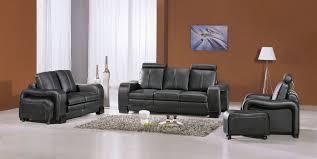 ensemble canap 3 2 1 deco in ensemble canape cuir noir havane 3 2 1 places hava 3