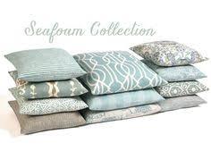 euro sham couch pillow covers sofa pillows seafoam green pillows