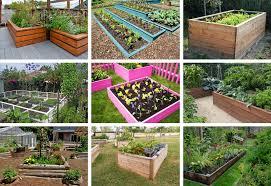 32 raised wooden garden bed designs exles