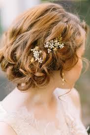20 killer romantic wedding updos for medium hair wedding
