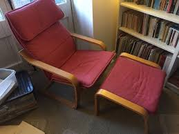 best reading chair ikea poang armchair and footstool best reading chair ever in