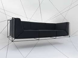 floating couch web entangled seating floating sofa