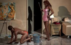 hard labor female superiority stories men perform hard manual