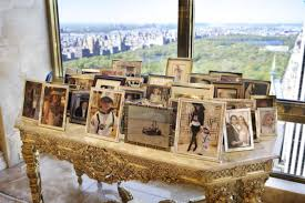 trump penthouse new york at home with donald and melania trump trump melania pose and
