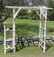 wedding arch log wedding altar arches collection on ebay
