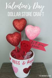 diy s day dollar store craft pot of hearts